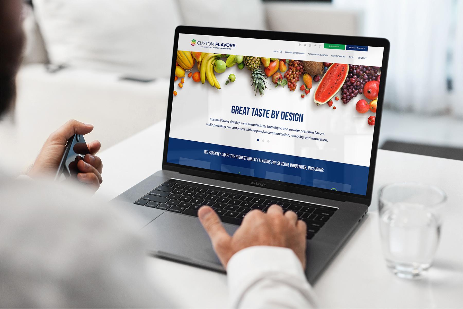 LDD WORK Custom Flavors Website