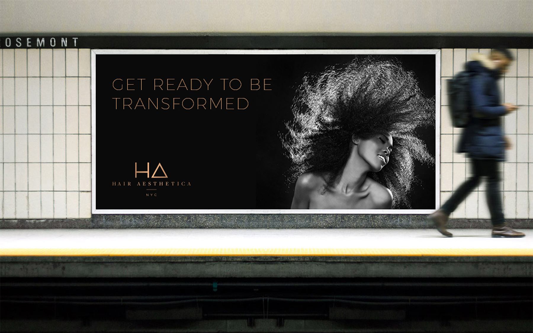 LDD WORK Hair Aesthetica Subway Ad