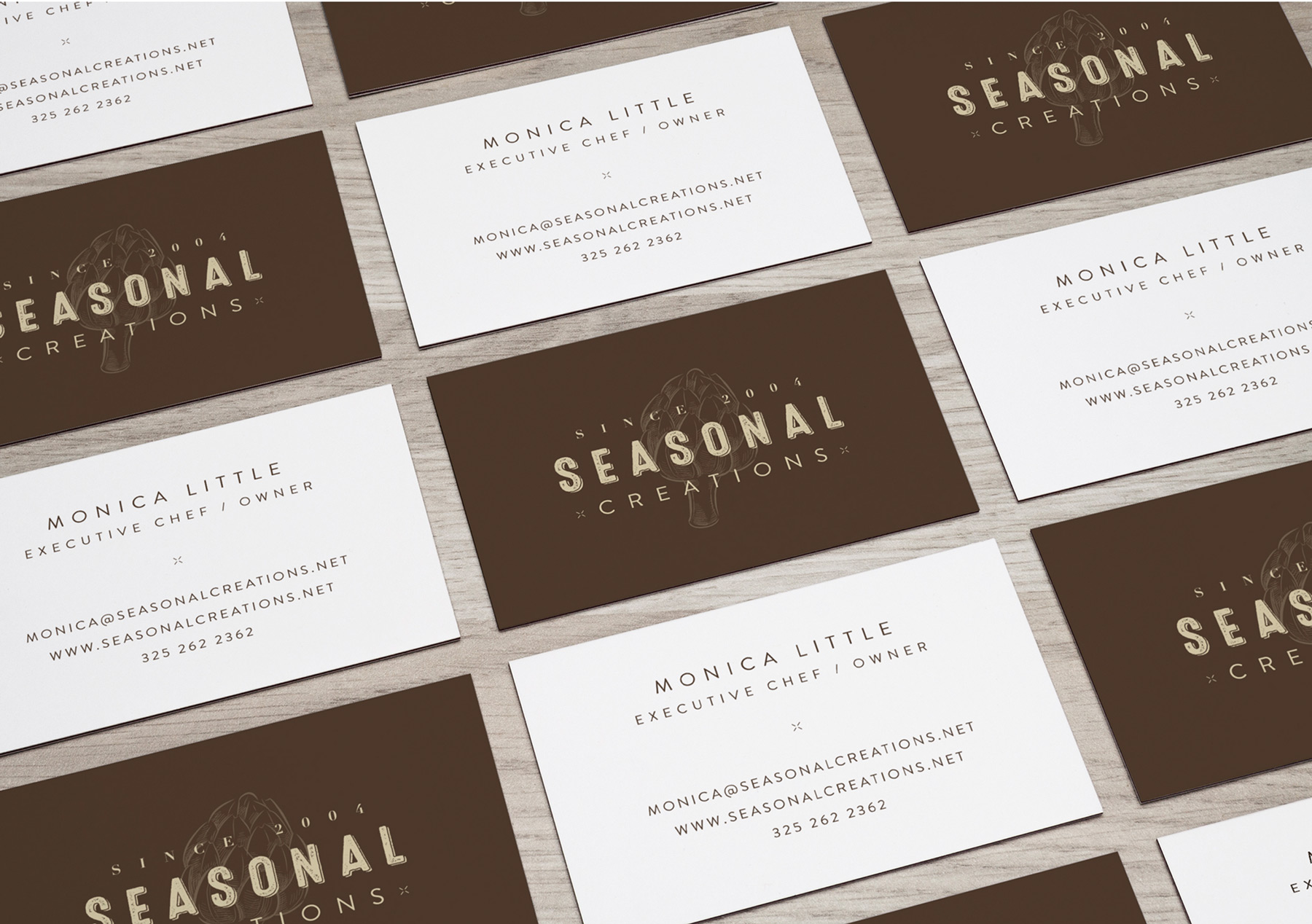 LDD WORK Seasonal Creations Business Cards